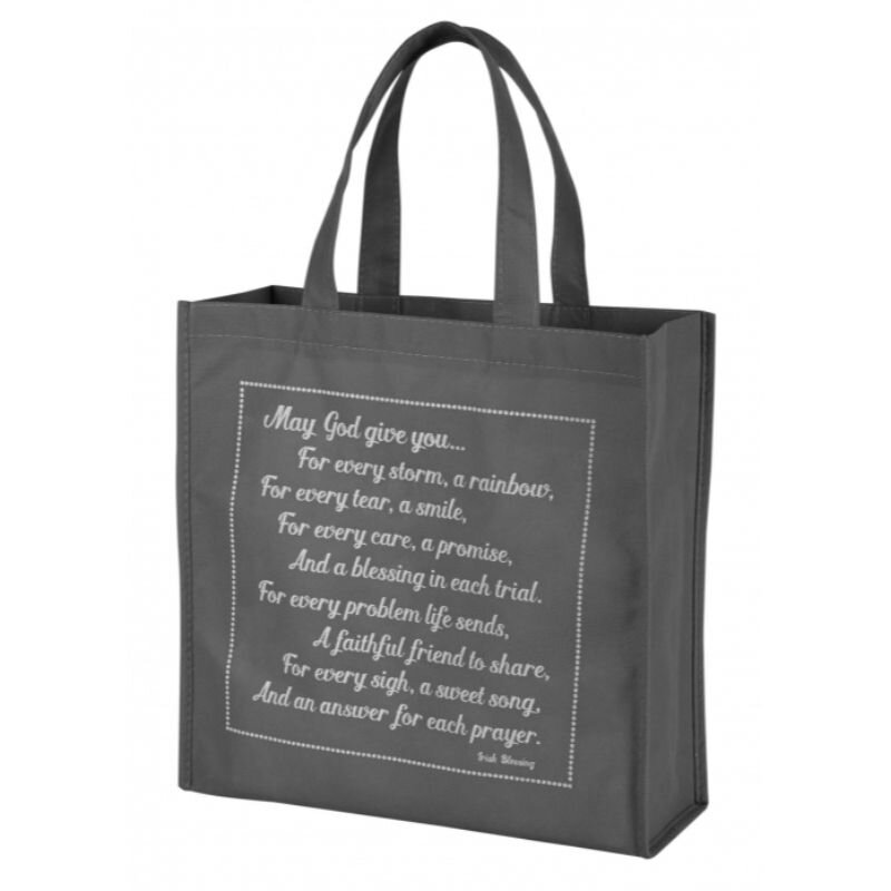 Blessing Tote - May God Give You – Irish Blessing - 12/pk
