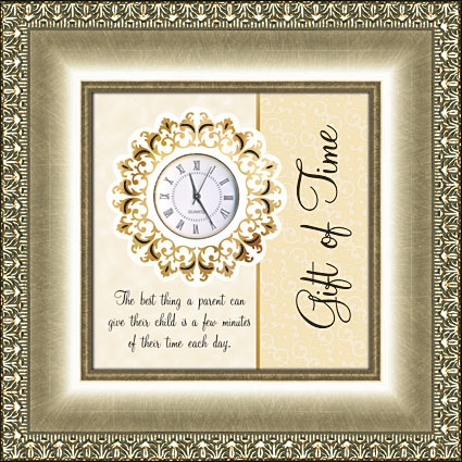 Framed Table Clock General Verse - Gift Of Time