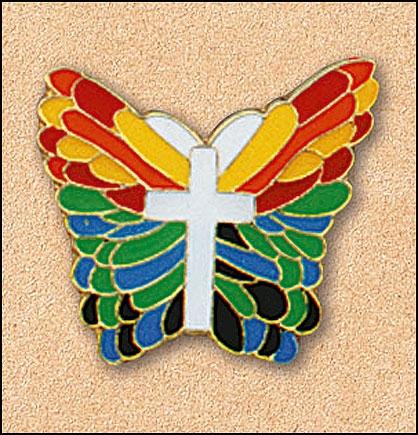 Butterfly/Cross Pin - 25/pk