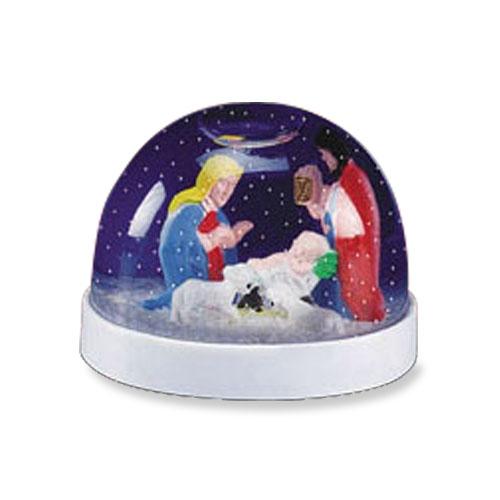 Nativity Waterglobe - 12/pk