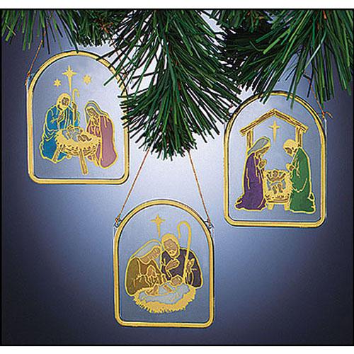 Nativity Ornaments - 48/pk