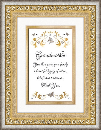 Grandmother Framed Tabletop General Verse
