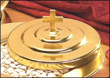 Brasstone Bread Plate Cover