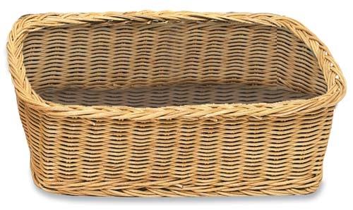 Unlined Rectangular Basket