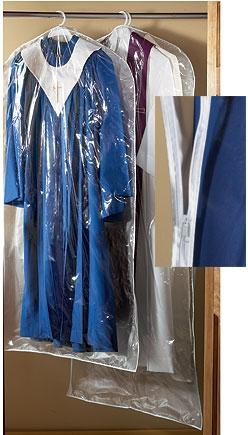 Large Deluxe Clear Vinyl Vestment Bag - 2/pk