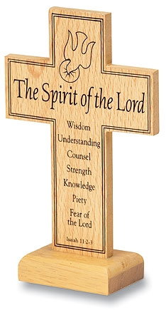 Confirmation Standing Prayer Cross - 12/pk