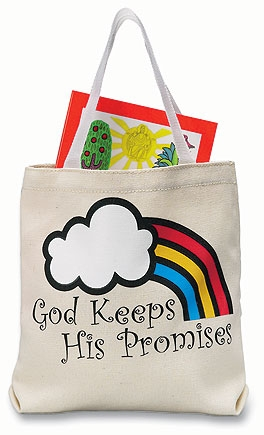 God Keeps His Promises Tote Bags - 12/pk
