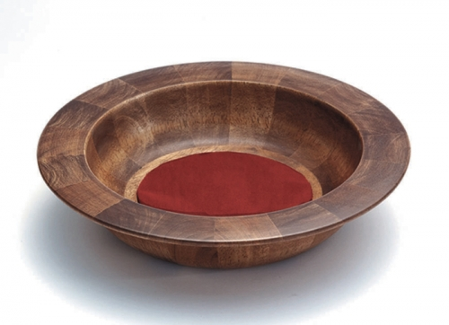 Handcrafted Maple Offering Plate