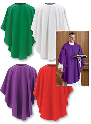 Everyday Chasuble Set of 4 Asst Colors - 4/PK
