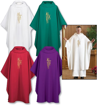 Monastic Chasuble Set of 4