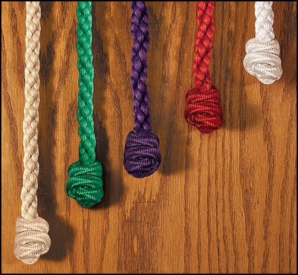 Knotted Monk's Rope Cinctures