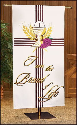 Spring Series Banner - I Am the Bread of Life