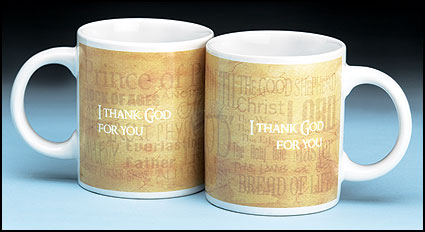 I Thank God for You Mug