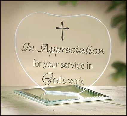 In Appreciation Heart Stand - 12/pk