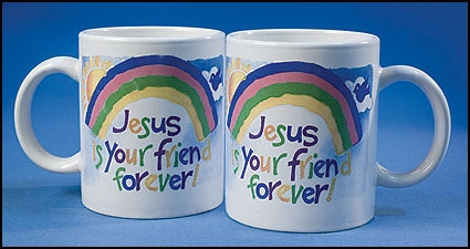 Jesus is Your Friend Forever Ceramic Mug