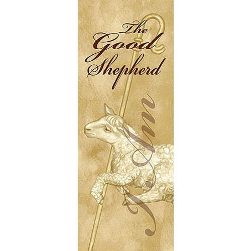 I Am Series X-Stand Banner - I Am The Good Shepherd