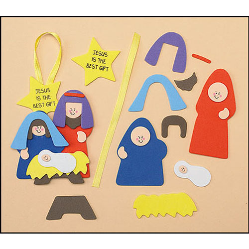 Jesus is the Best Gift Ornament Craft Kit