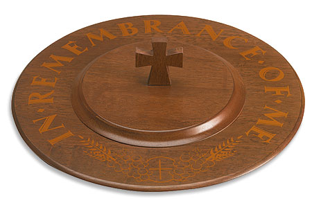 In Remembrance Communion Tray Lid