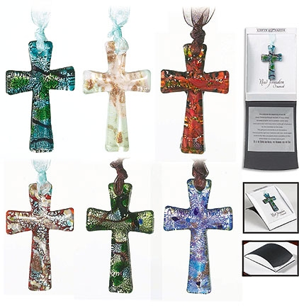 New Jerusalem Cross Ornaments