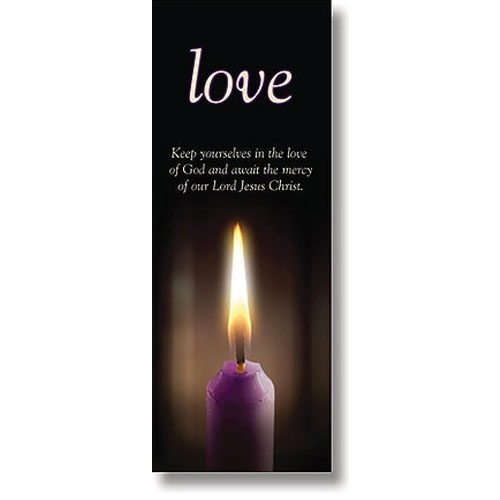 Advent Candle Series X-Stand Banner - Love