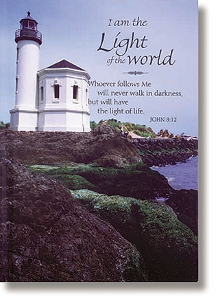I Am the Light of the World Journal - 12/pk