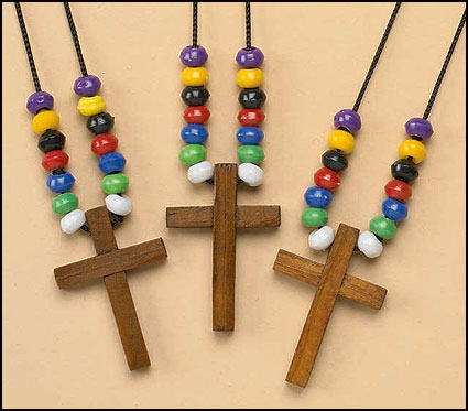 Colors of Faith Cross Necklace