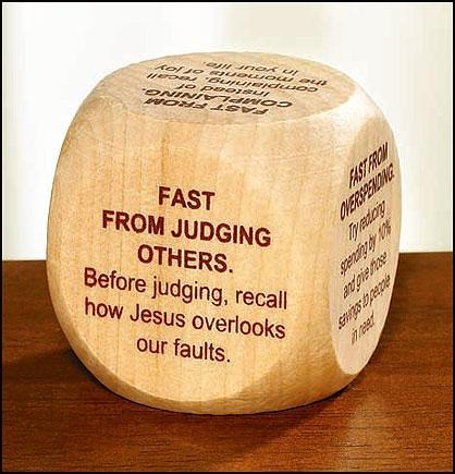 Fasting Prayer Cube™ - 12/pk