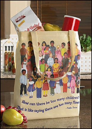 Children of the World Tote Bag - 12/pk