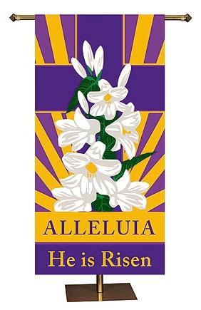 Spring Series Banner - Alleluia, He is Risen