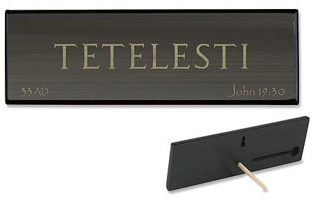 Tetelesti Plaque