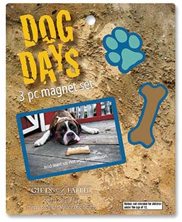 Dog Days Magnet Assortment - 4/pk