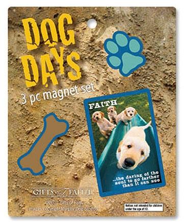 Dog Days Vertical Magnet Assortment - 4/pk
