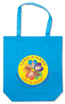 Lend a Hand, Lift a Heart Tote Bag