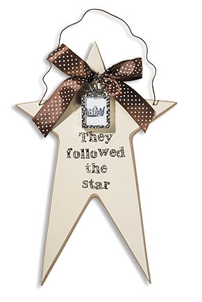 They Follow the Star Wall Plaque