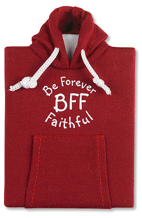 BFF - Be Forever Faithful Hoodie Notebook