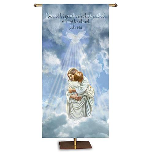 Comforting Jesus Banner