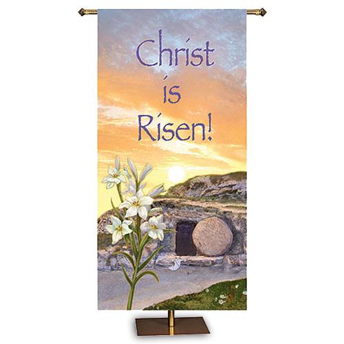 Christ is Risen Banner