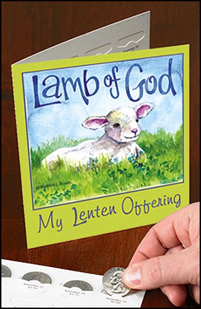 Lamb of God Lenten Offering Folder - 50/pk