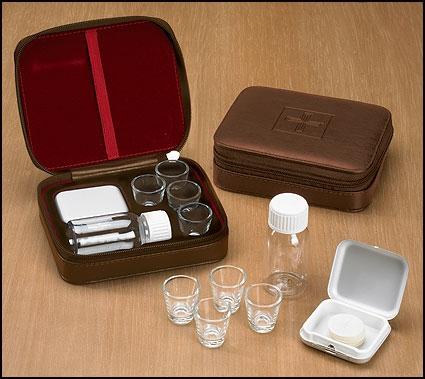 4-Cup Portable Communion Set