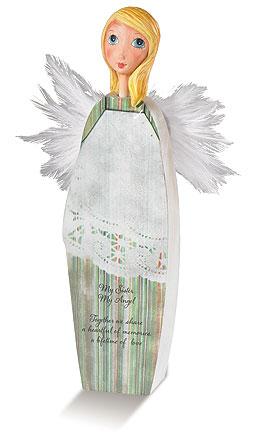 Sister Enfolding Wings Angel
