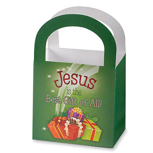 Jesus is the Best Gift Christmas Treat Baskets