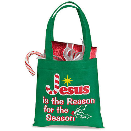 Jesus is the Reason for the Season Christmas Gift Bag