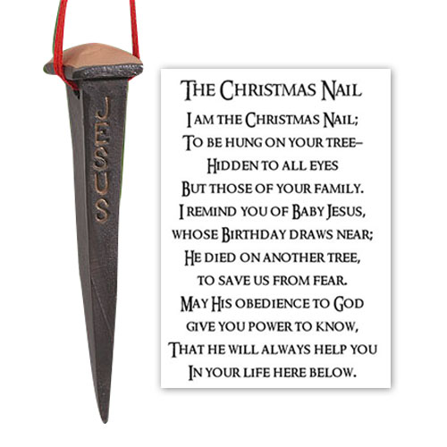 Story of the Christmas Nail Ornament