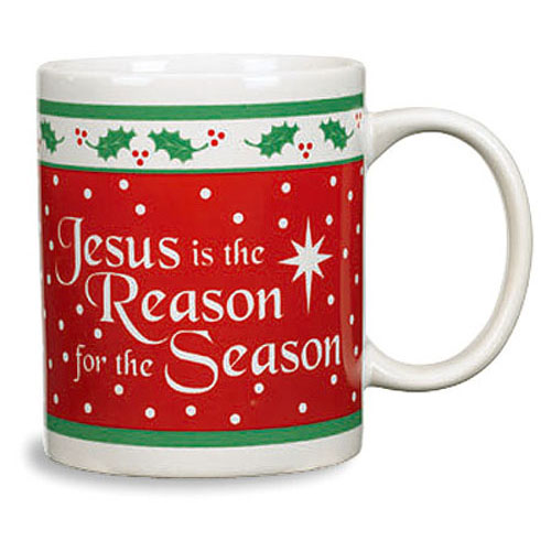 Jesus is the Reason for the Season Christmas Mug