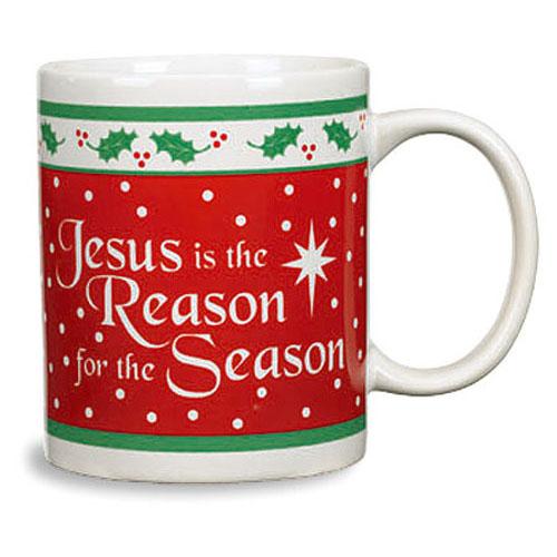 Jesus is the Reason for the Season Christmas Mug