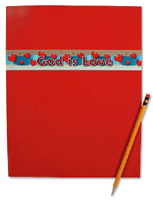 God Is Love Folder