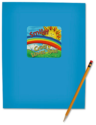 Smile! God Loves You! Folder