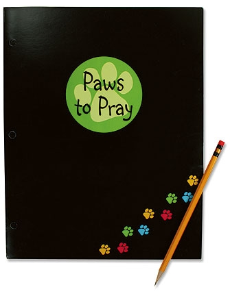 Paws To Pray Folder