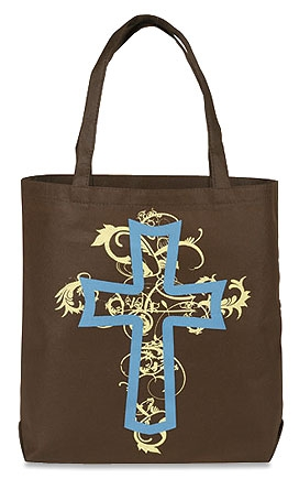 Cross Gusset Bottom Tote Bag