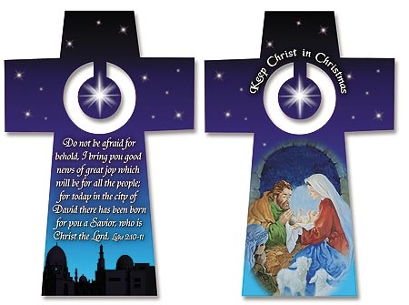 Keep Christ in Christmas Prayer Stand
